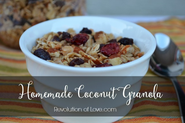 Revolution of Love - Homemade Coconut Granola (pp_granola_6)