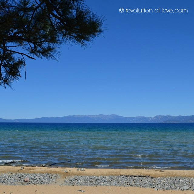 © revolution of love.com - Lake Tahoe with Kids (tahoe_water_3W)