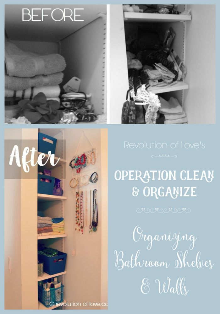 revolution of love - Organizing Bathroom Shelves & Walls - oco_bathroom_logo