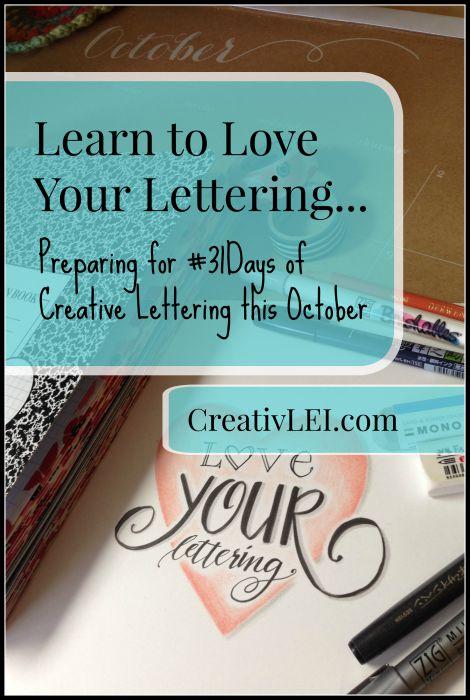 Preparing-for-31days-of-Creative-Lettering-CreativLEI.com_