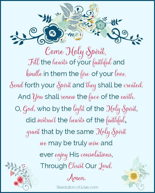 Revolutionof Love.com - holy_spirit_prayer2_800