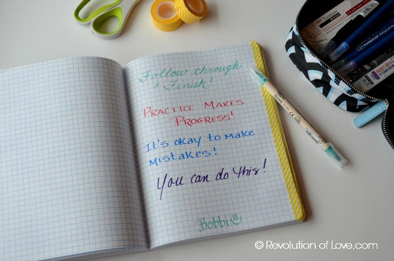 (lettering_day_1c)RevolutionofLove.com - #LoveYourLettering Challenge -