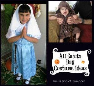 RevolutionofLove.com - All Saints Day Costume Ideas(saint_costume_3)