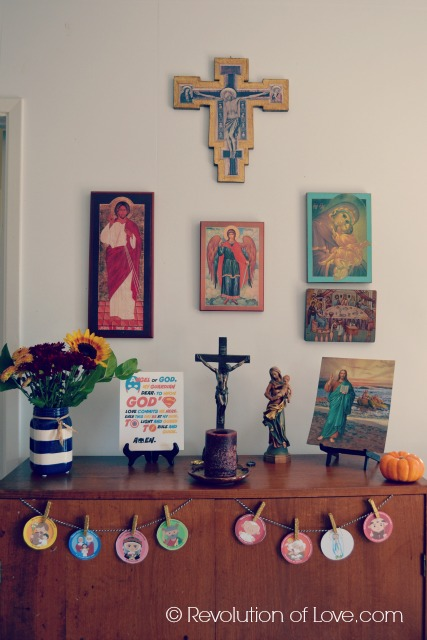 RevolutionofLove.com - Making Sacred Spaces in Your Home -pp_altar_2