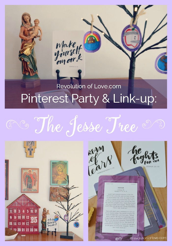 RevolutionofLove.com - Pinterest Party: The Jesse Tree (advent_jesse_tree_pin)