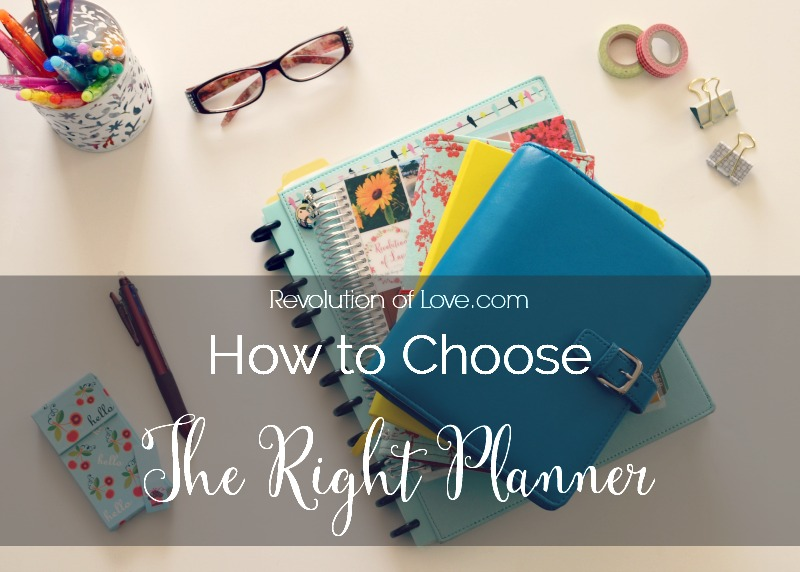 RevolutionofLove.com - How to Choose the Right Planner for You // (logo_choose_planner)