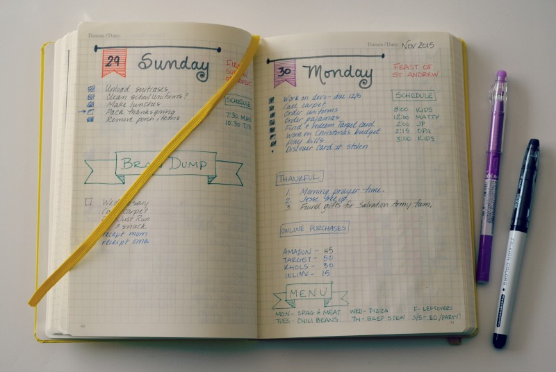 RevolutionofLove.com - How I Use My Bullet Journal // planner_bujo_7