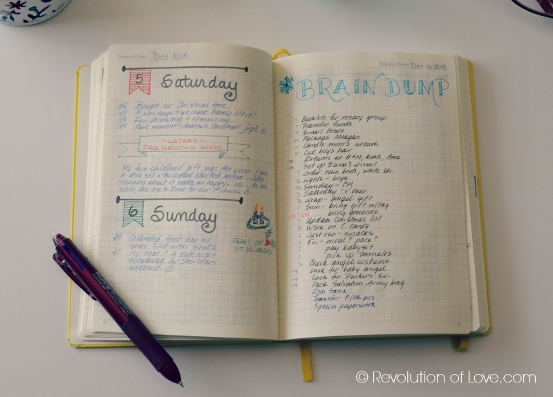 RevolutionofLove.com - How I Use My Bullet Journal // planner_bujo_8