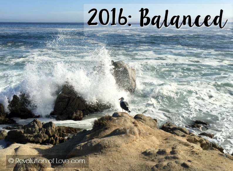 RevolutionofLove.com - Word of the Year - Balanced // goals_jan_feb_2016A