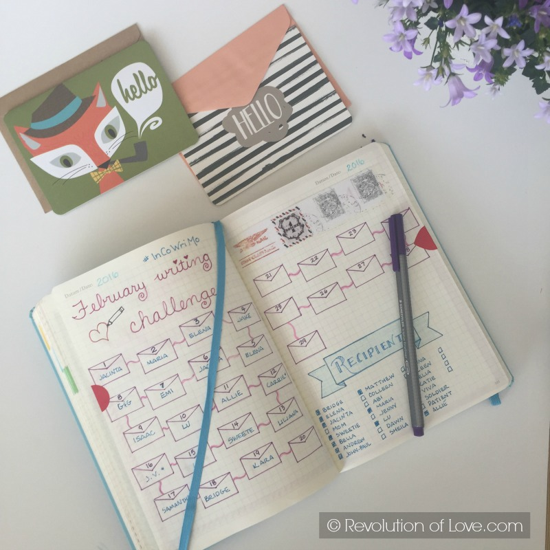 RevolutionofLove.com - The Joy of Letter Writing - bujo_pen_pal_1