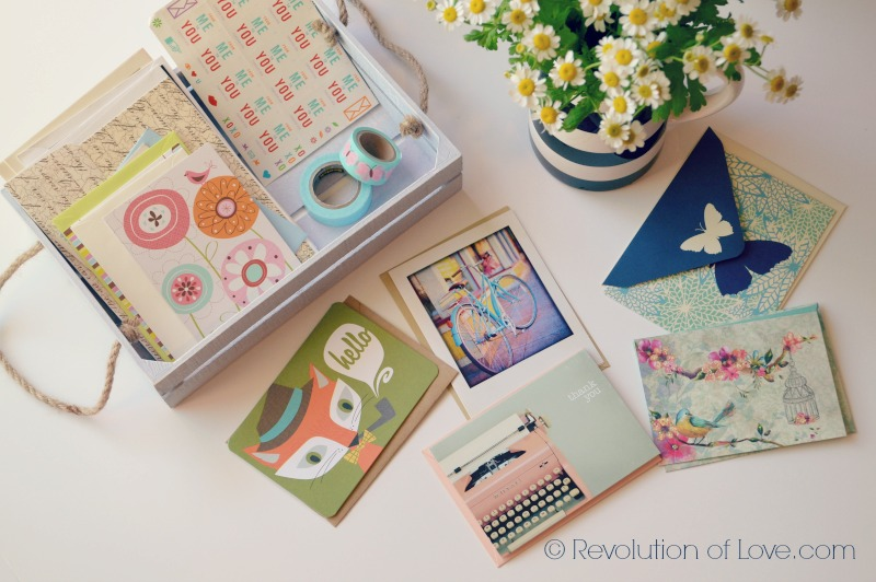 RevolutionofLove.com - The Joy of Letter Writing - lletters_desk