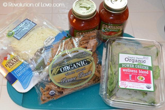 RevolutionofLove.com - pasta_spinach_1