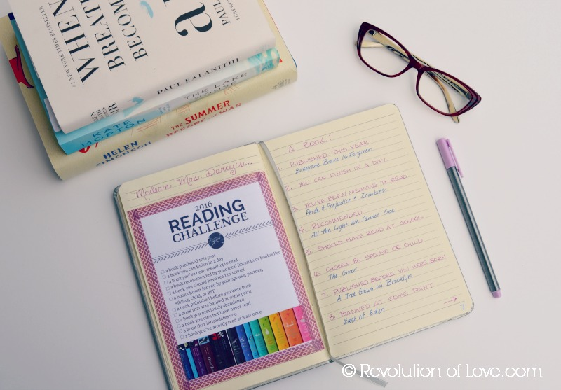 RevolutionofLove.com - Making A Reading Bullet Journal - reading_journal_2