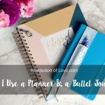 How I Use a (Blessed Is She) Planner and a Bullet Journal