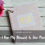 How I Use My Blessed Is She Liturgical Academic Planner 2017-2018